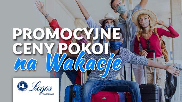 Promocja na wakacje w Logos Warszawa
